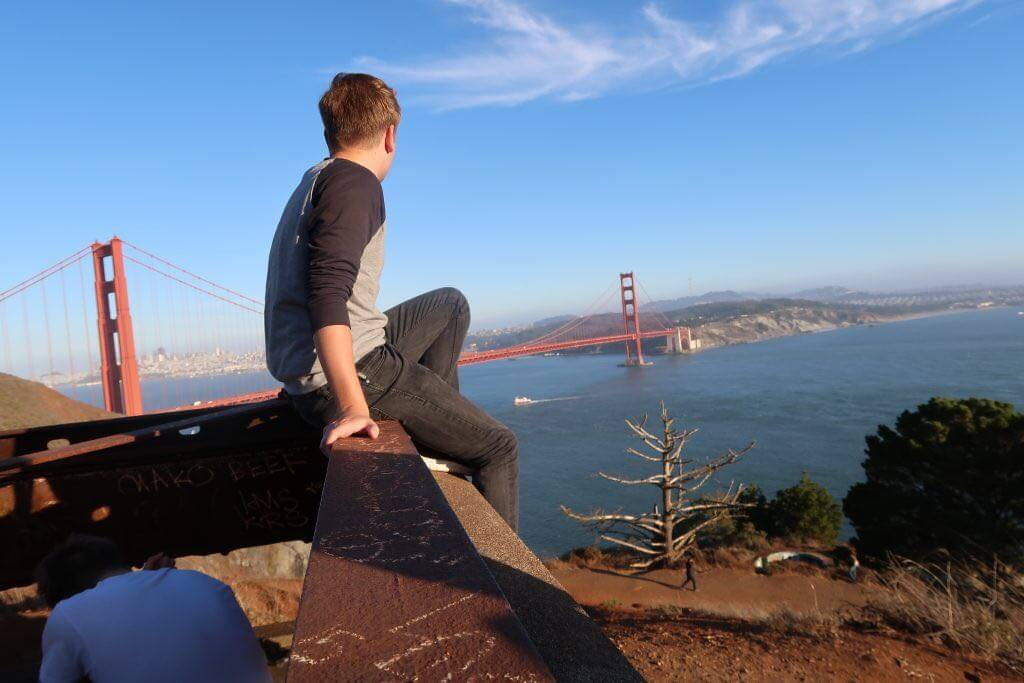 Blick auf Golden Gate Bridge