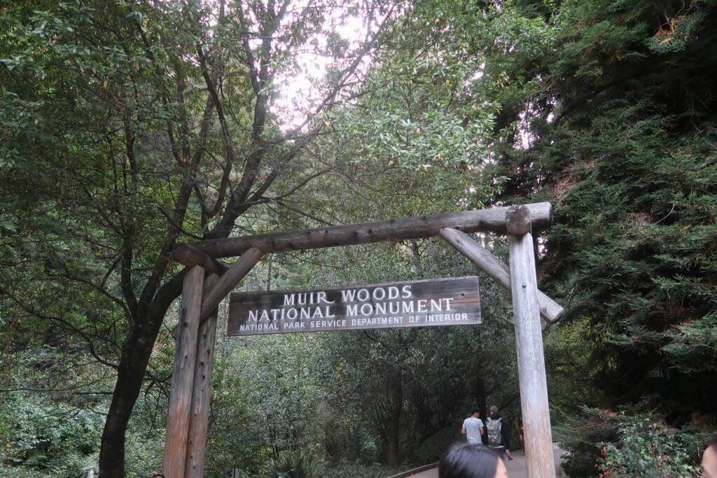 Muir Woods Eingang