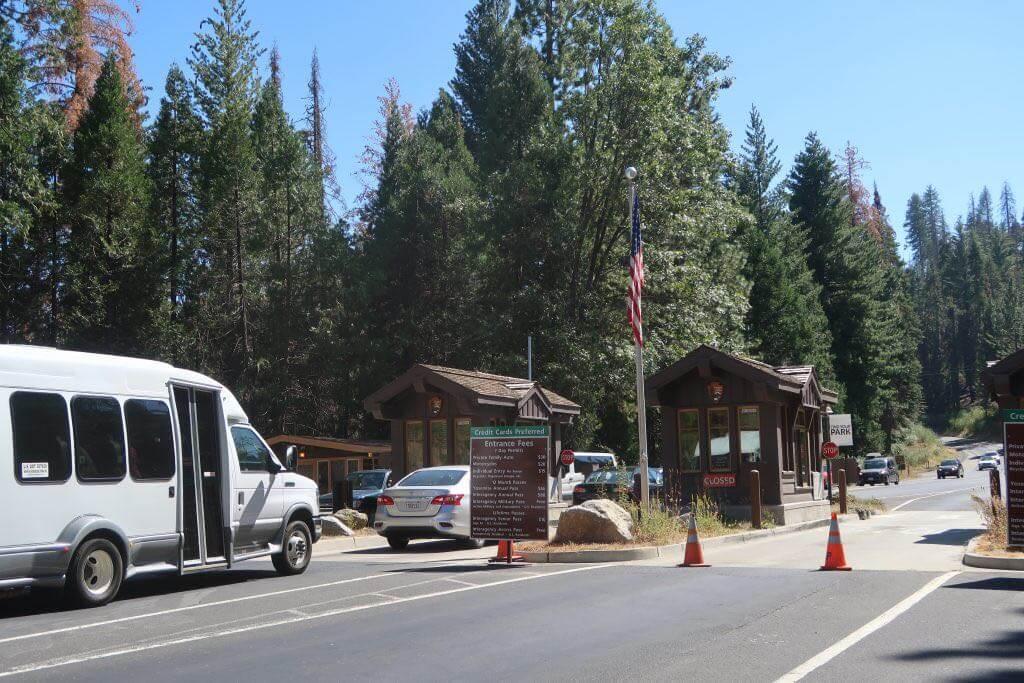 Yosemite Valley Parkeingang