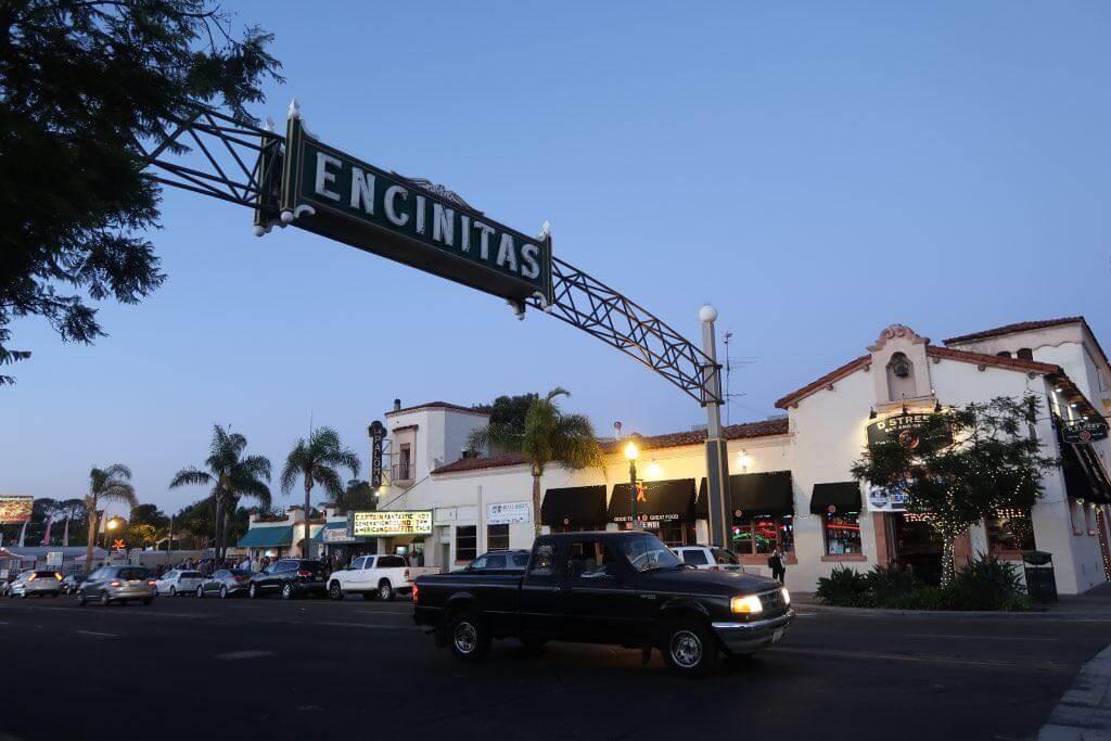 Schild zu Encinitas