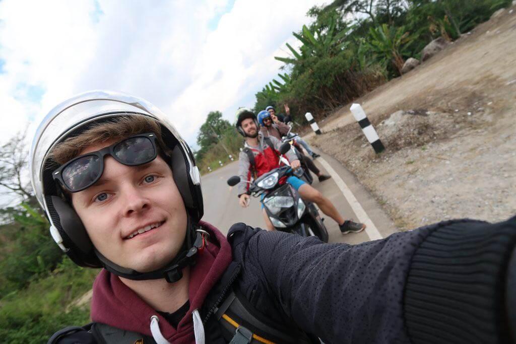 Motorradtour Gruppe