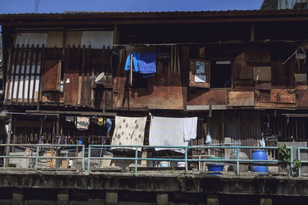Bangkok Wohngebäude