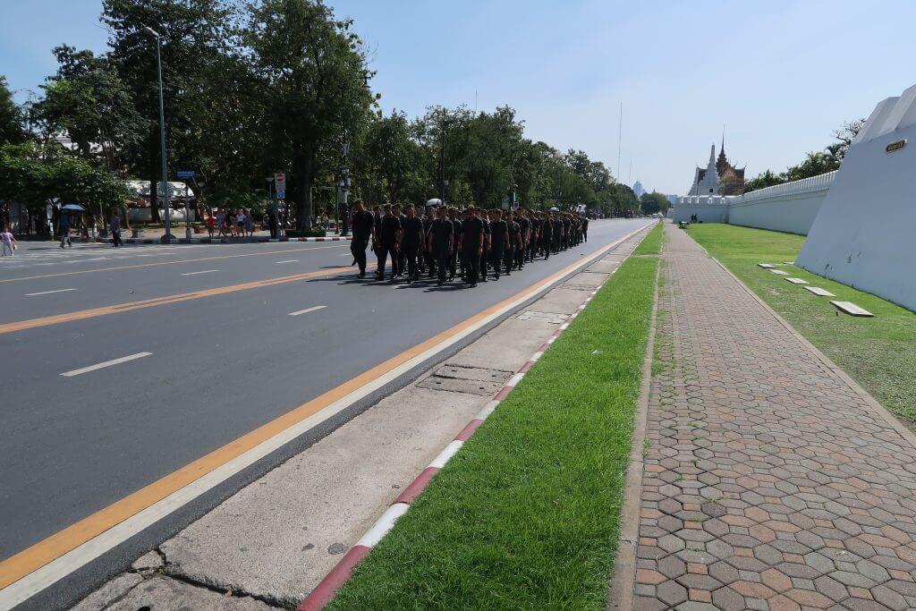 Militär Grand Palace Bangkok