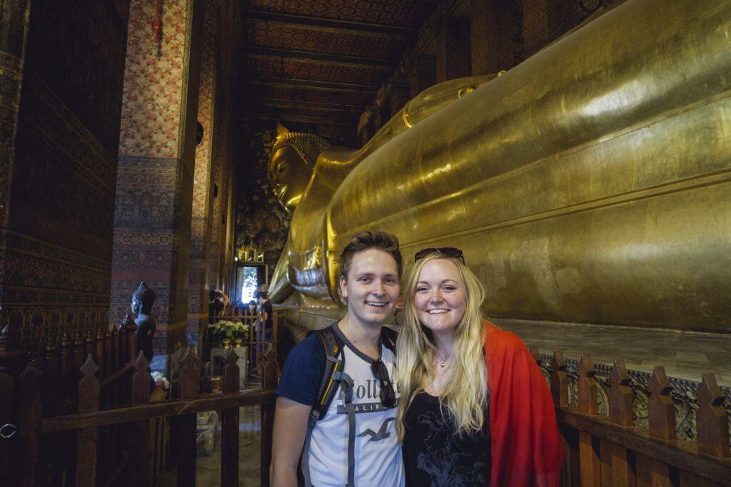 Selfie Wat Pho