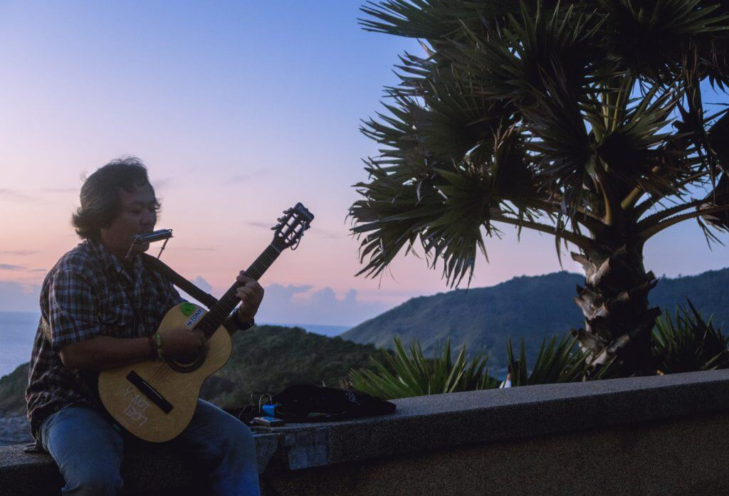 Promthep Viewpoint Musiker Phuket