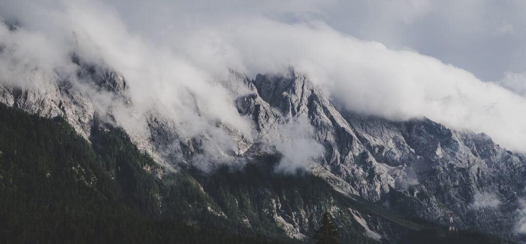 Bergkette Zugspitze