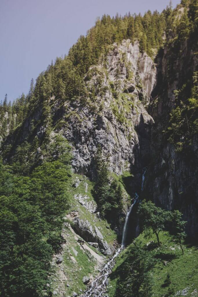 Wasserfall Höllentalklamm