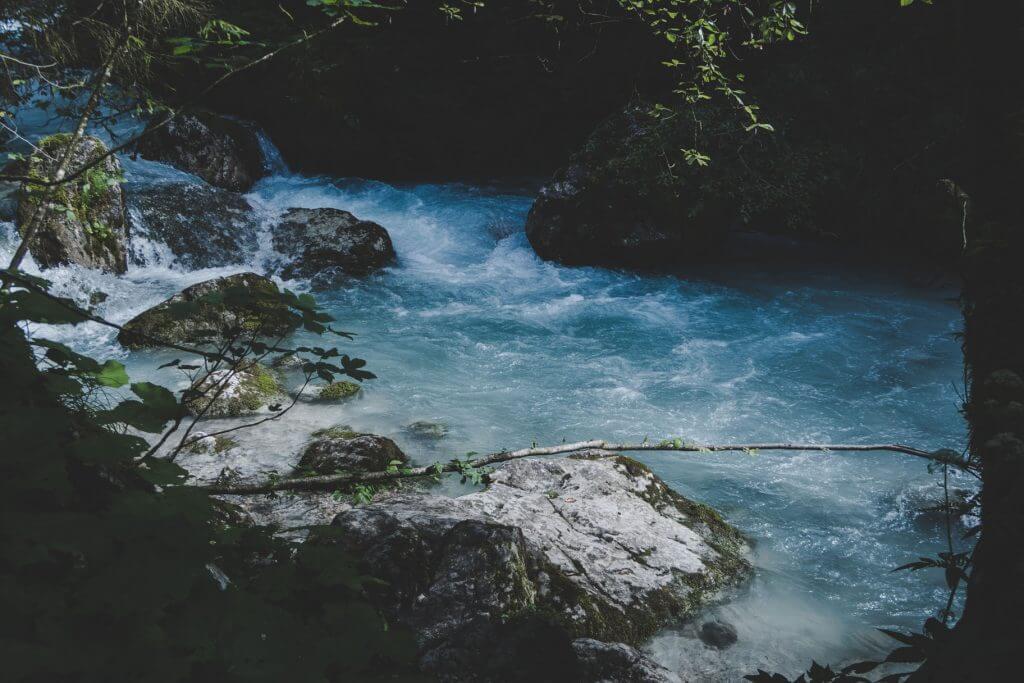 Höllentalklamm Fluss